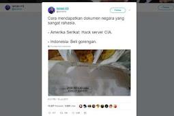 Rahasia Negara Yang Jadi Bungkus Gorengan , Hanya Ada Di Indonesia !