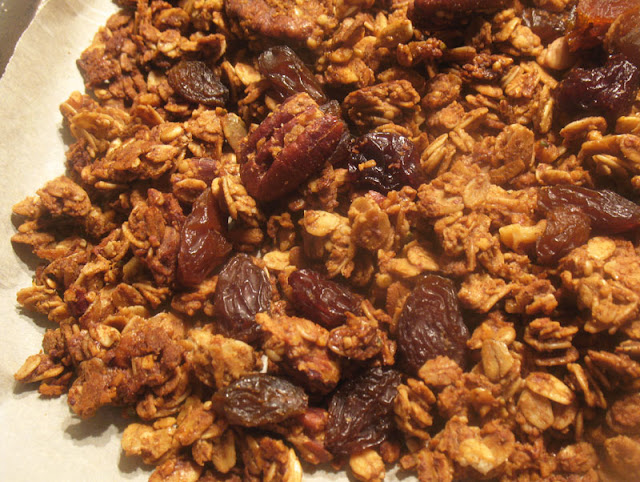 Fruit and Nut Maple Granola