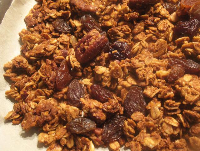 Fruit and Nut Maple Granola