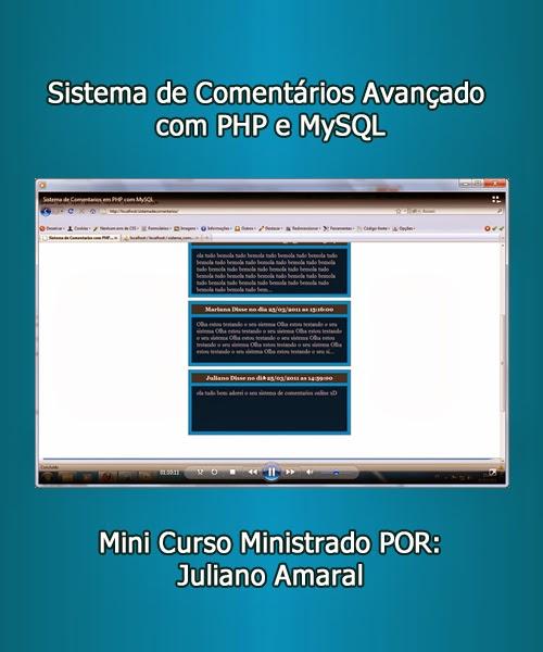 Download - Curso: Sistema De Comentários Avançado Com Php E Mysql