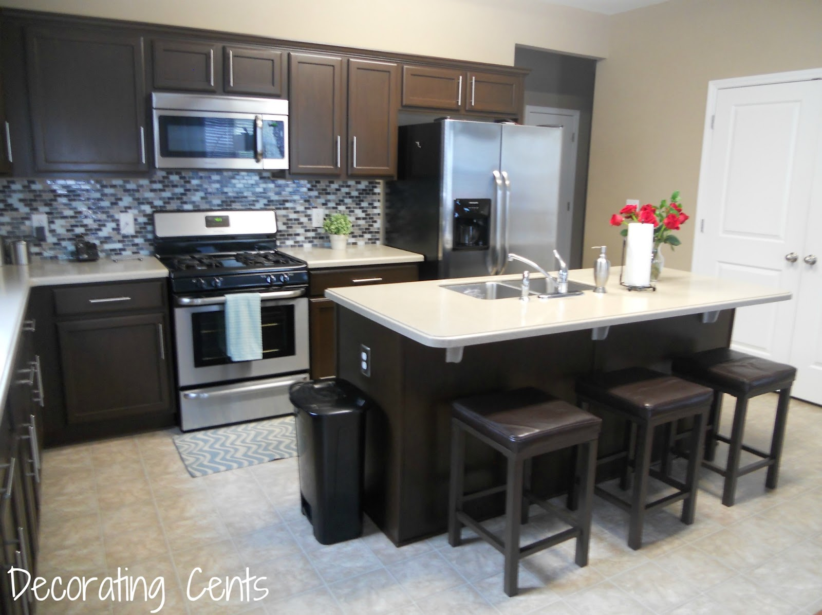 How To Painting The Kitchen Cabinets