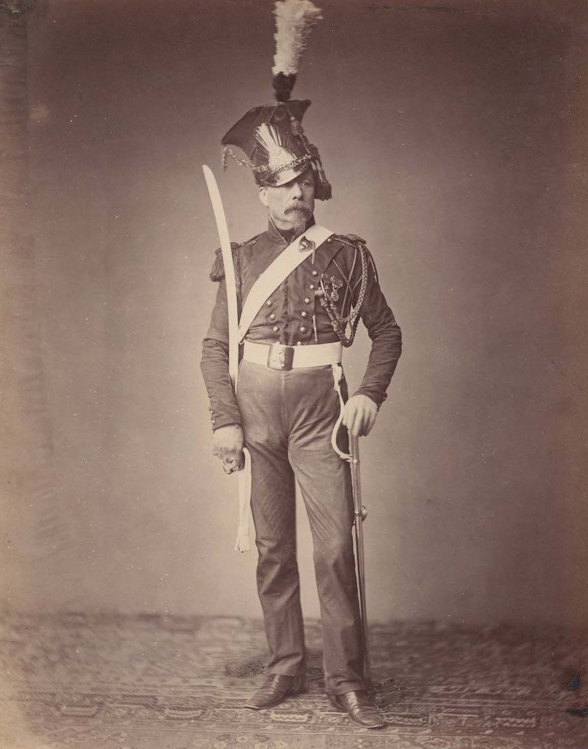 Monsieur. Verlinde of the 2nd Lancers.