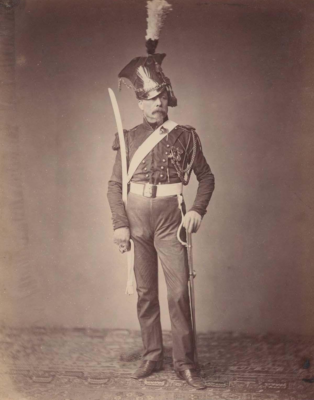 Monsieur. Verlinde of the 2nd Lancers.