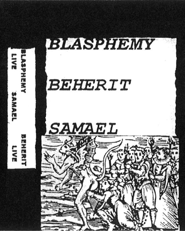 Asmodian Coven: Blasphemy / Beherit / Samael - Live Split (bootleg '92)