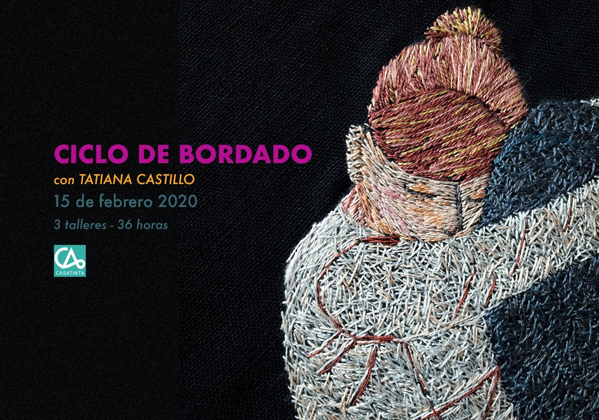 CICLO DE BORDADO -  15 de feb