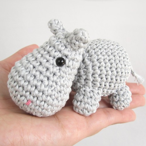 Small Hippo - Free Pattern