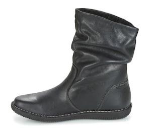 botas negras casual attitude hapano