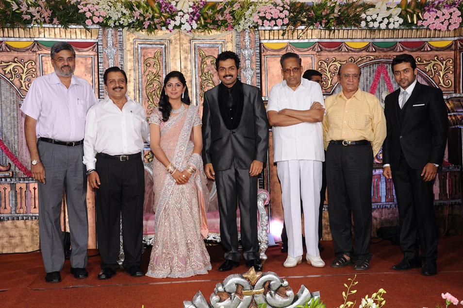521 Entertainment World: Karthi Ranjani Unseen Wedding Rare Photos