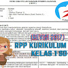 Download RPP Kurikulum 2013 Revisi 2017 Kelas 1 SD Lengkap Dengan PPK, Literasi dan HOTS