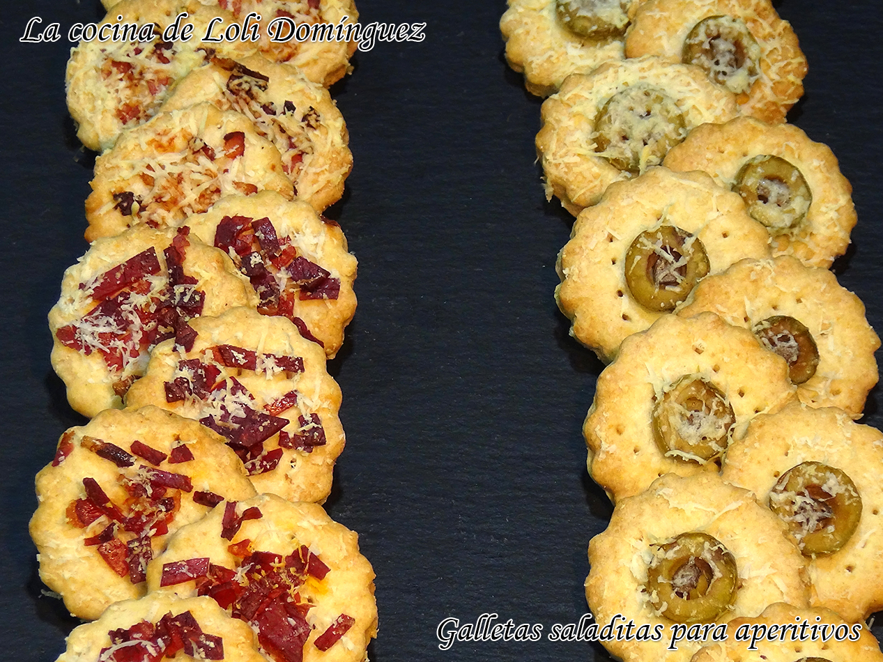 Cocinando Con Loli | La Cocina De Loli Dominguez Galletas Saladitas Para Aperitivos