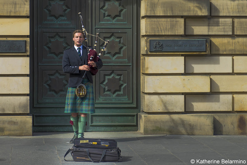 Bagpipe Player Things to Do in Edinburgh in 3 Days Itinerary