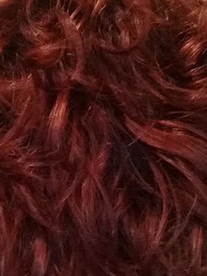 cheveux rouge cuivré
