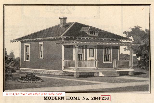 1914 catalog image of Sears No 264p216