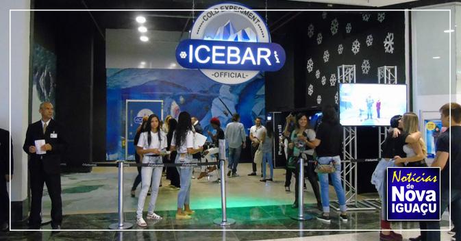 5dd11991e1 Ice Bar ficará até 30 de abril no TopShopping. InícioNova IguaçuBaixada  Fluminense
