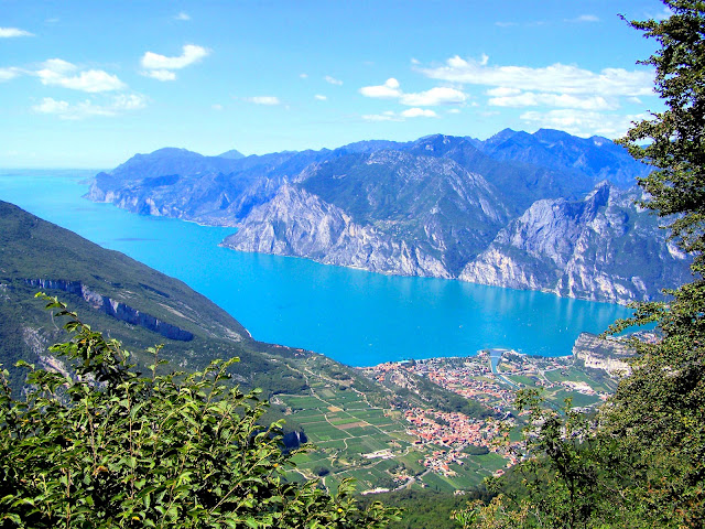 Lake Garda in northern Italy, the country's largest lake, is world-renowned for its first-class resorts and picturesque settings! All photography in this post via WikiMedia.org.