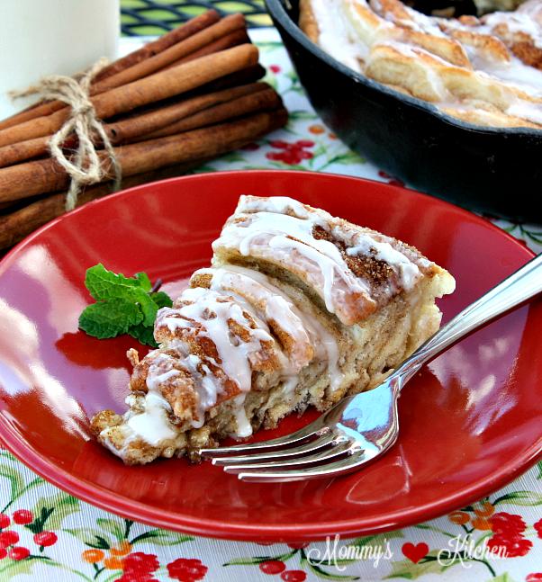 Shortcut Cinnamon Roll Cake