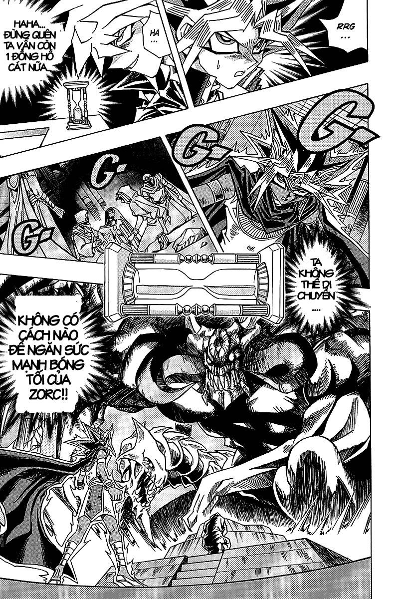 YUGI-OH! chap 321 - thần bóng tối thức tỉnh trang 10