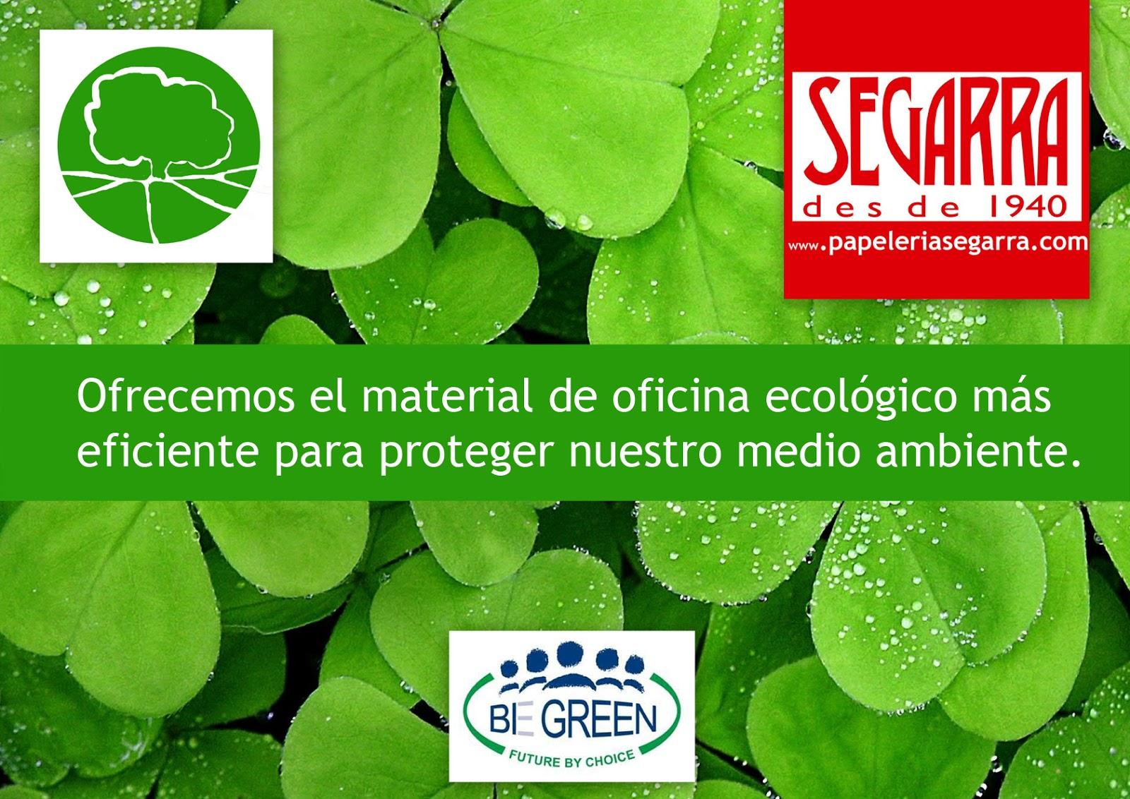 Ap ntate a la oficina verde for Empresas de material de oficina