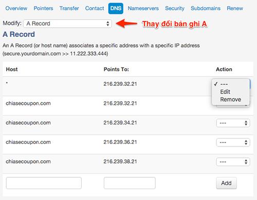Hướng dẫn trỏ cho tên miền ở domain về host-3