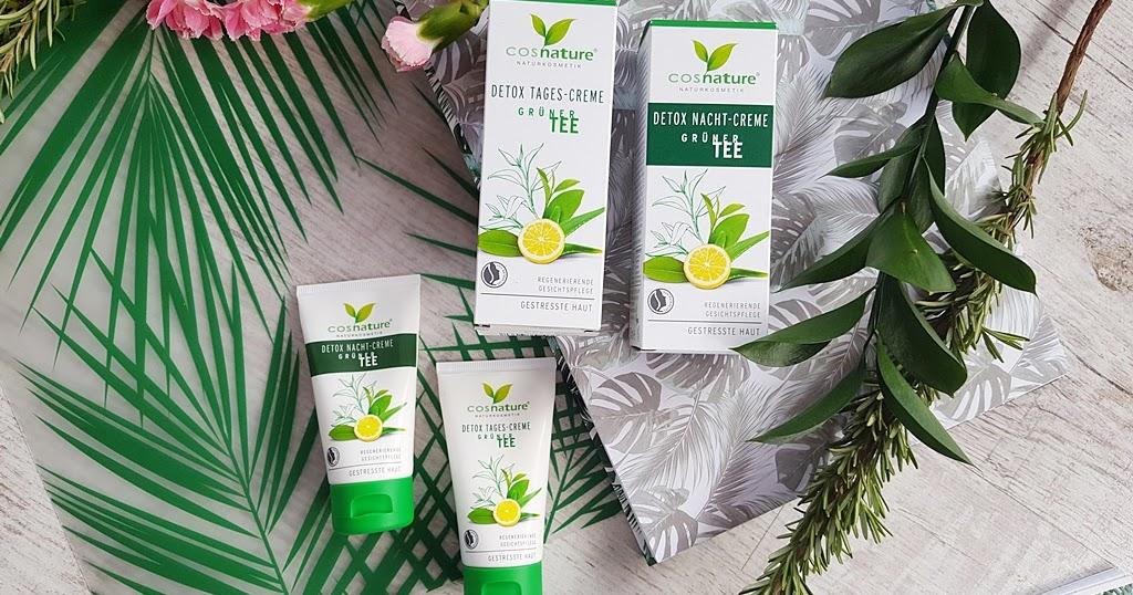 Cosnature Detox Naturalny krem z zielon? herbat? na dzie? i na noc
