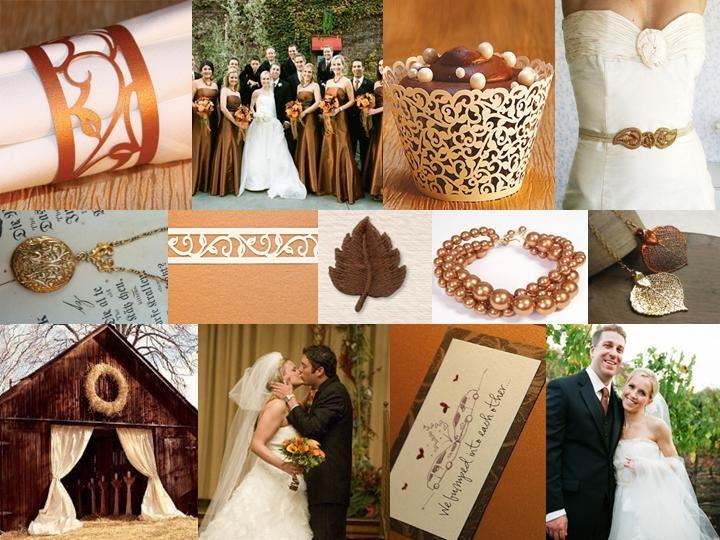 Fall Wedding Inspiration Beige: Choosing A Color Scheme For Your Fall Wedding