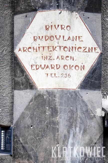 Tarnów.Reklama. Biuro budowlane i architektoniczne inż. arch. Edward Okoń.