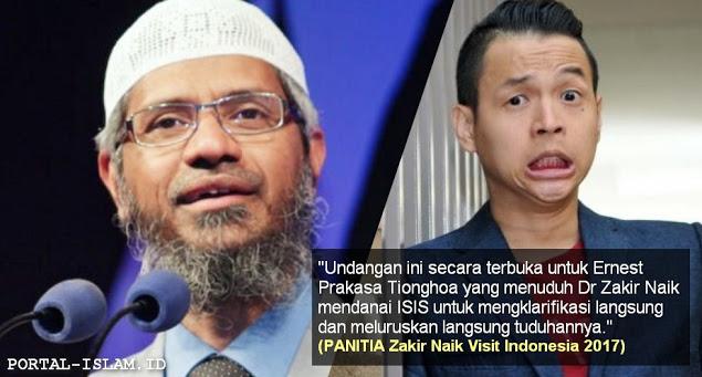Panitia Kembali Undang Ernest dan Non-Muslim Hadir di Acara Zakir Naik, Disediakan Kursi VIP