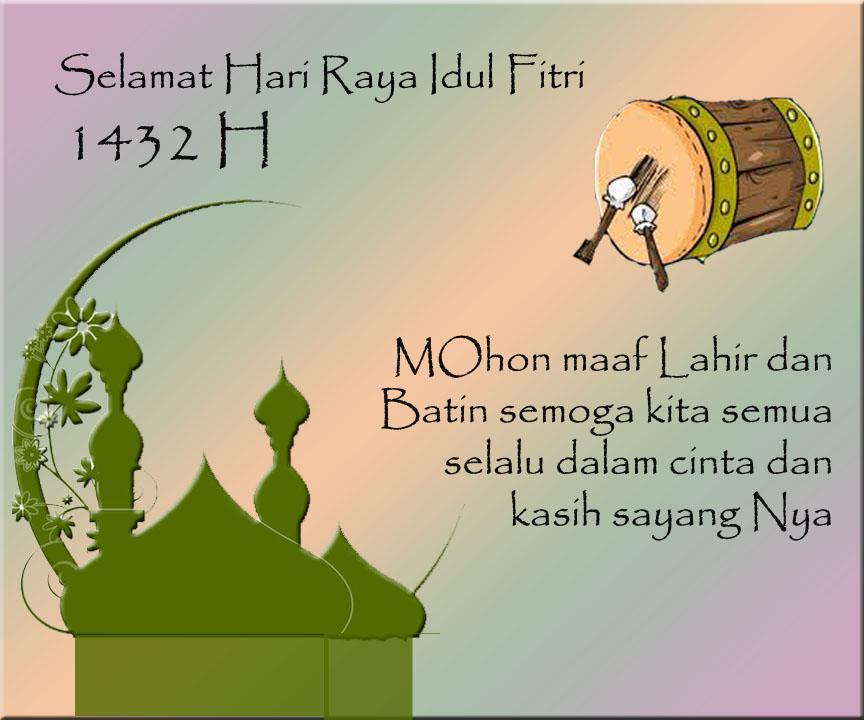 Macam Ucapan Hari Raya Idul Fitri: Shitty A.M: Contoh Kartu Ucapan Hari Raya
