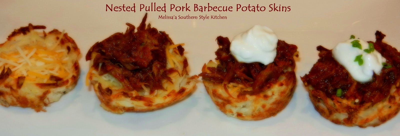 step by step preparation for assembling nested potato skins