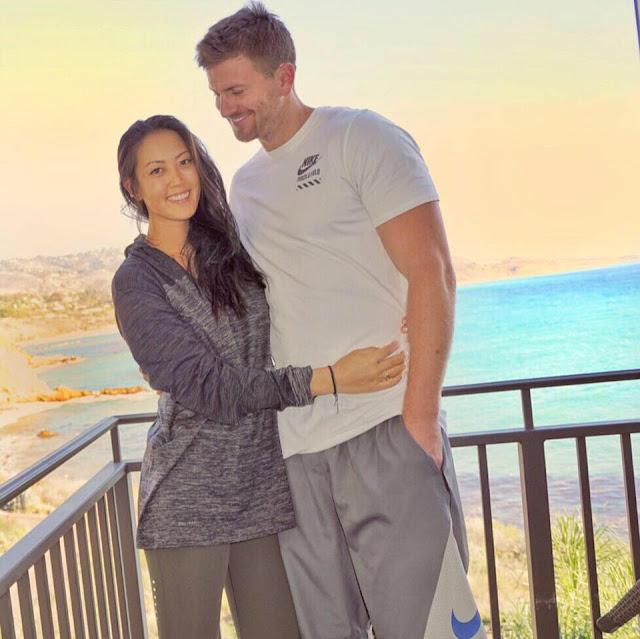 Michelle Wie with ex boyfriend Adam Zahn