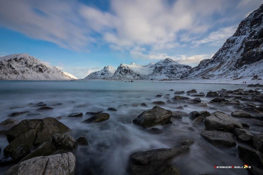 Playa Skagsanden, Islas Lofoten