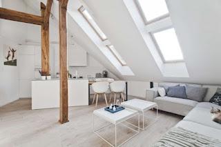 soffitta trasformata in appartamento
