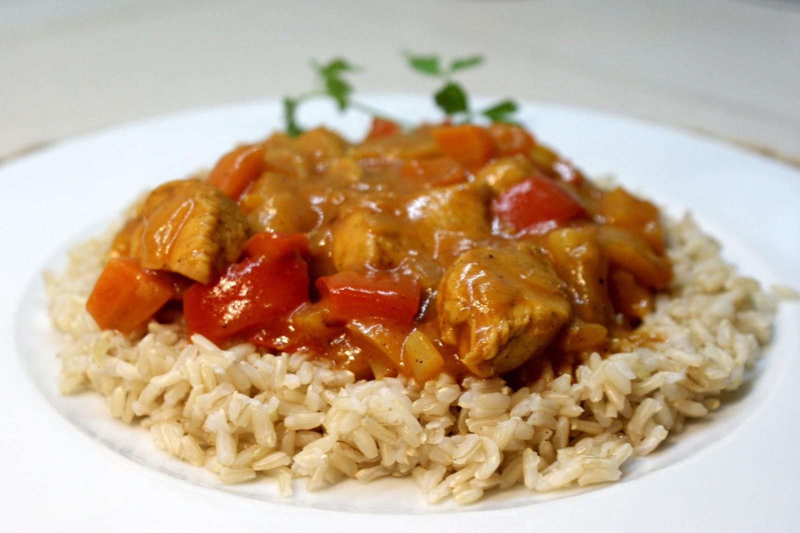 Kurczak Z Ryżem W Sosie Słodko Kwaśnym Inspiracje Kulinarne