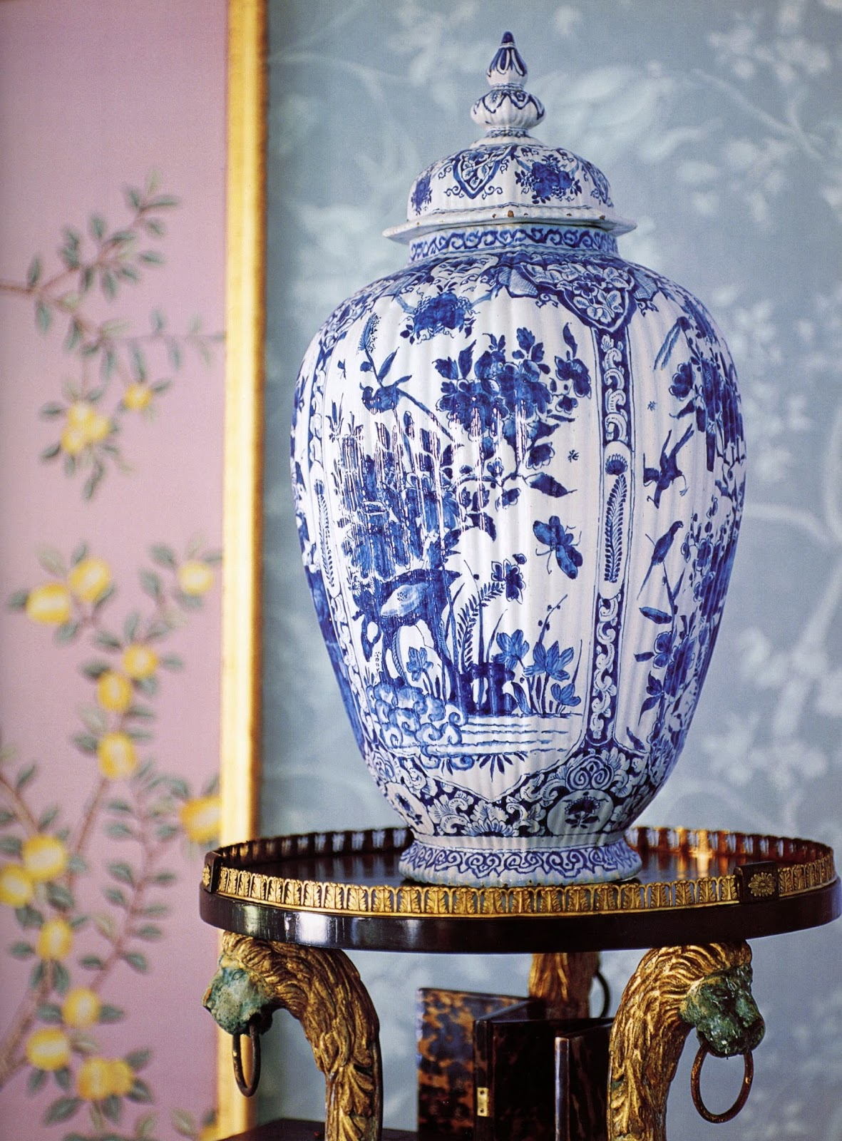 Chinoiserie chic trending the color purple my new for Houzz it