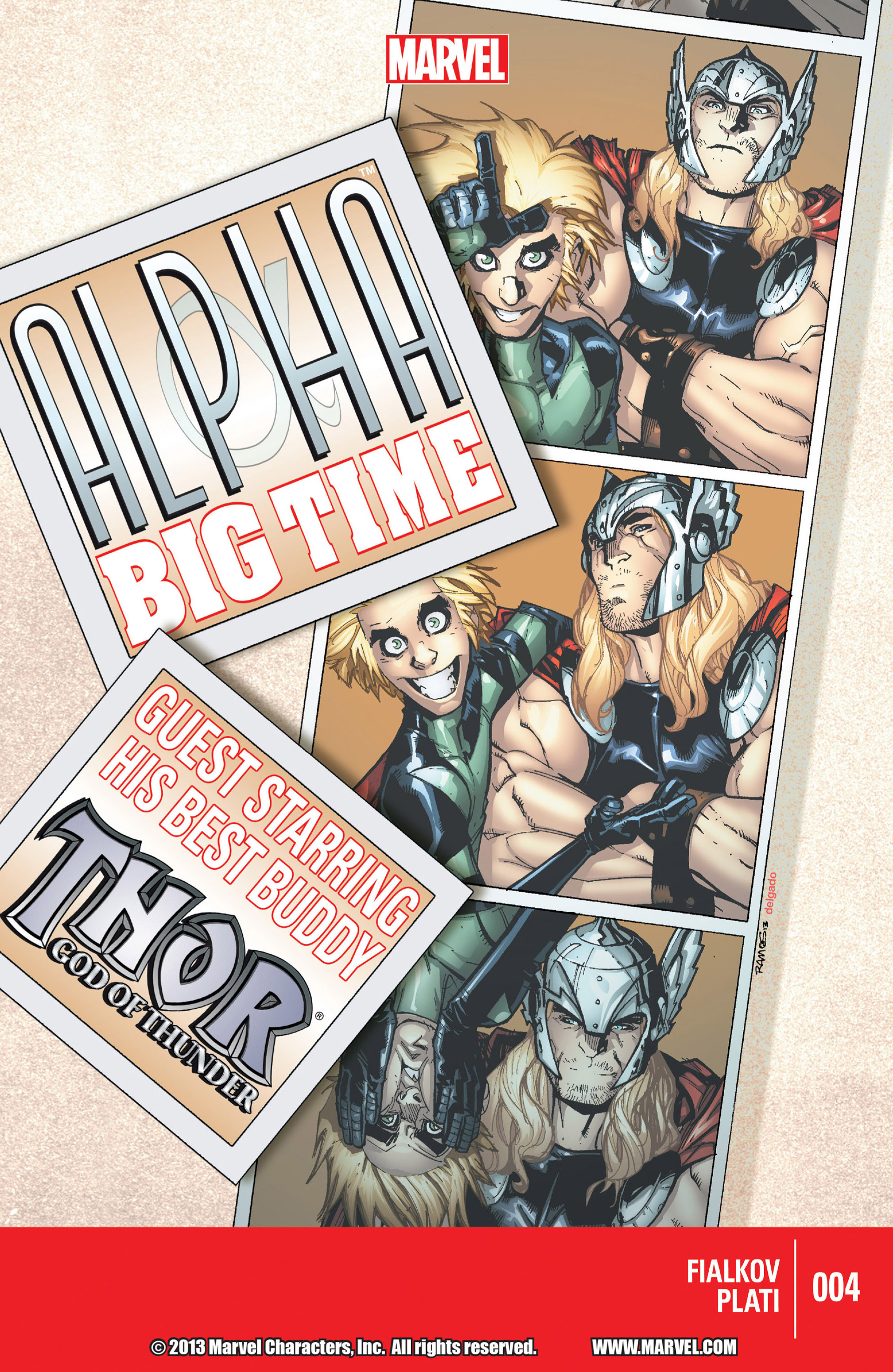 Read online Alpha - Big Time comic -  Issue #4 - 1