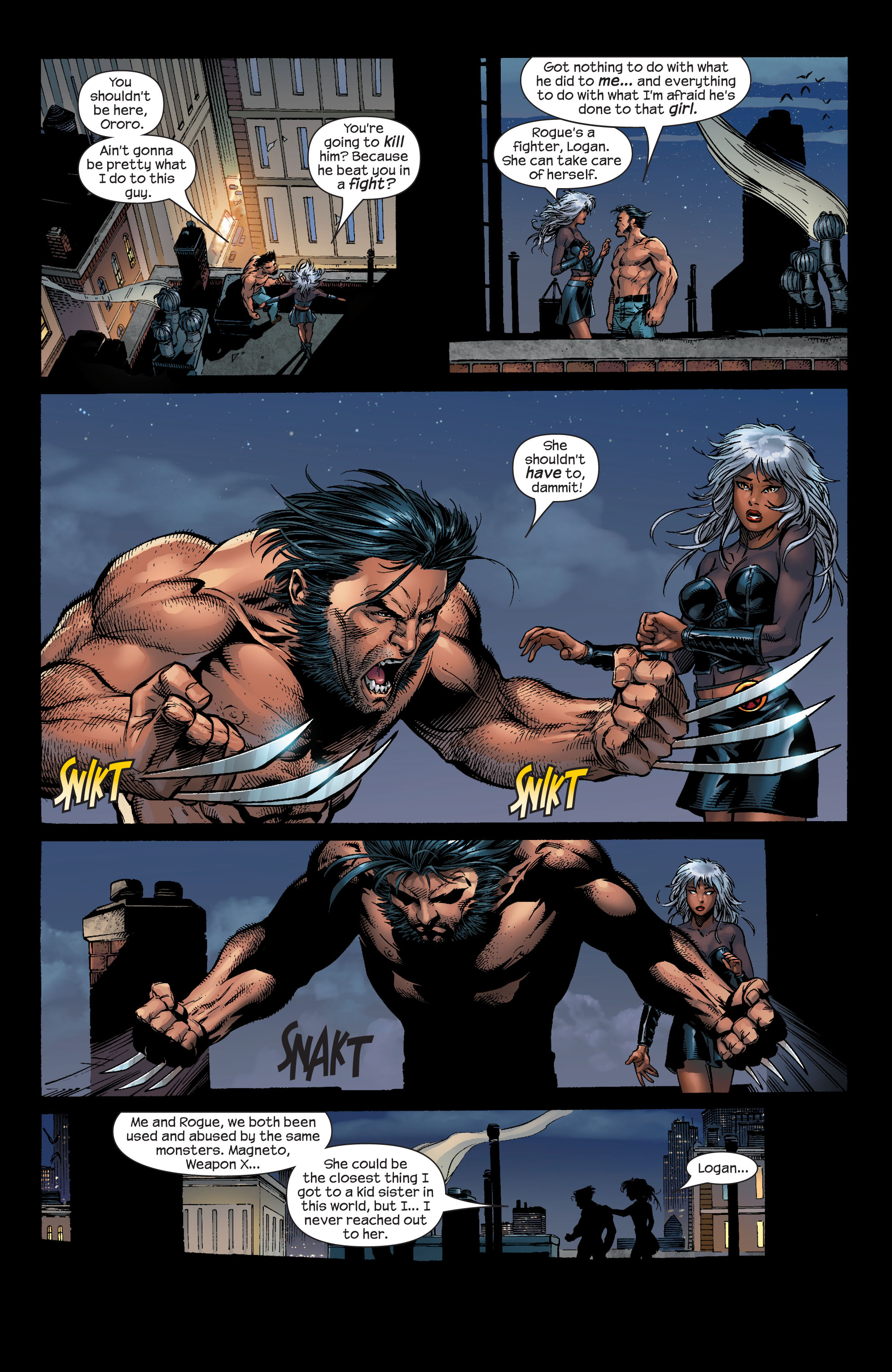 Read online Ultimate X-Men comic -  Issue #51 - 23