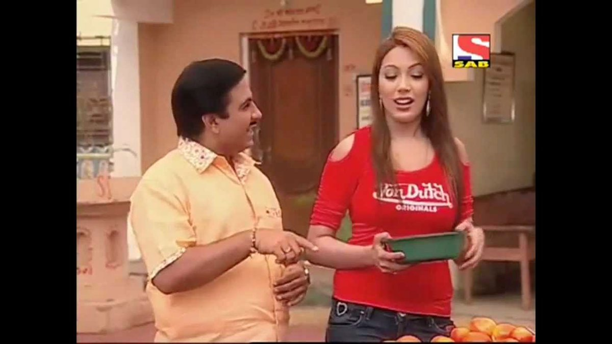 Jethalal Burst Out His Anger Upon Babita Ji On The Sets Of ... Taarak Mehta Ka Ooltah Chashmah Jethalal And Babita Ji Hot
