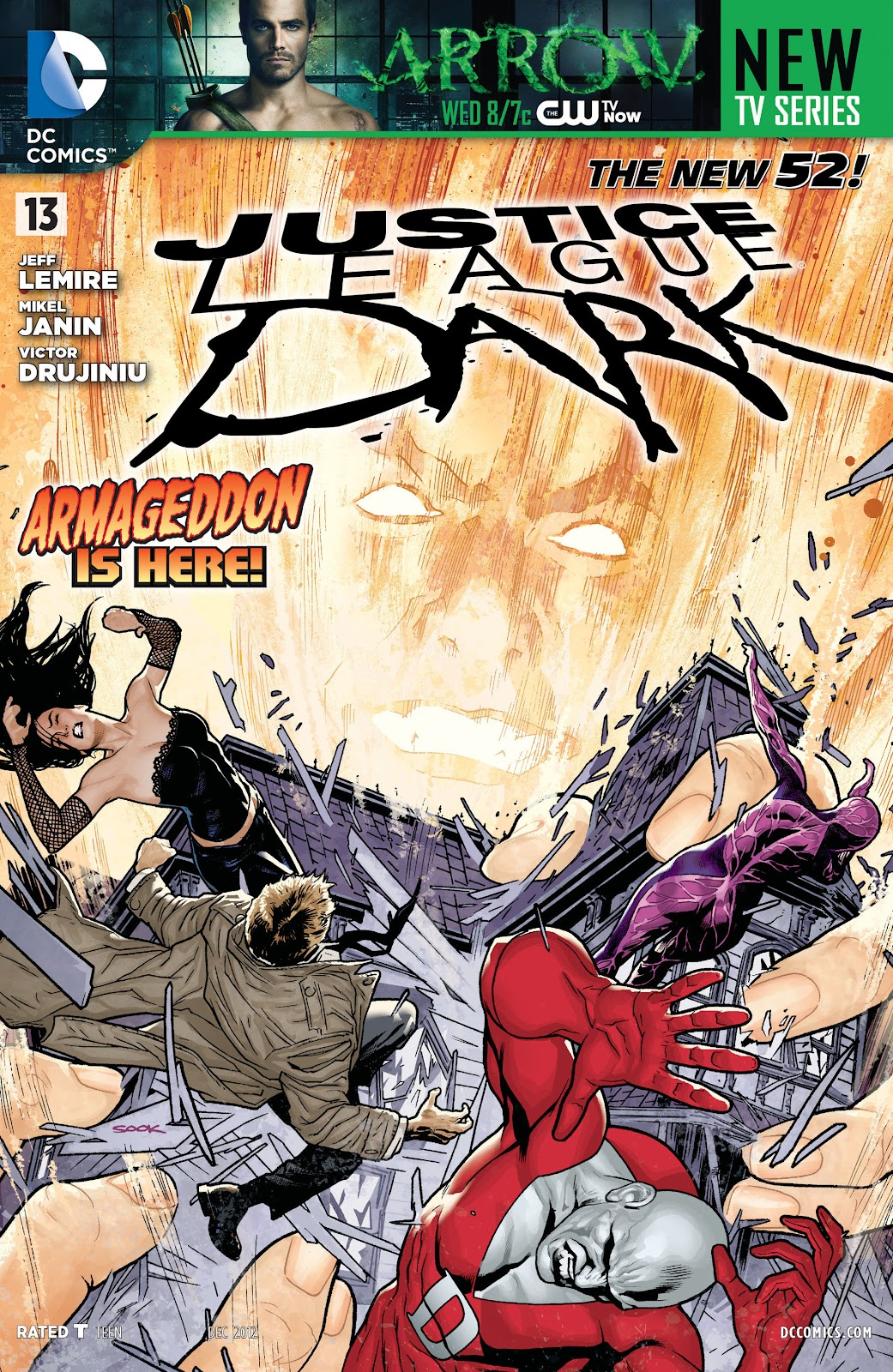 Justice League Dark (2011) issue 13 - Page 1