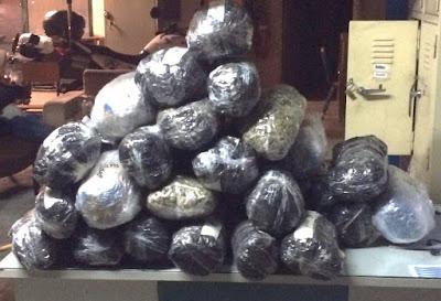Εξαρθρώθηκε εγκληματική ομάδα που εισήγαγε, μετέφερε και αποθήκευε προς περαιτέρω διακίνηση ποσότητες ακατέργαστης κάνναβης - Κατασχέθηκαν 38 κιλά κάνναβης