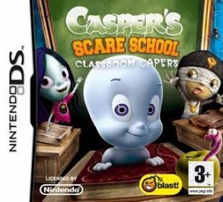 Casper's Scare School Classroom Capers, nds, Español