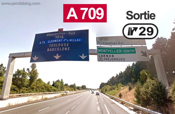Sortie 29 Autoroute A 709