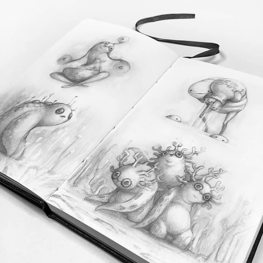 14-Drawings-of-Creatures-Stella-Bialek-www-designstack-co