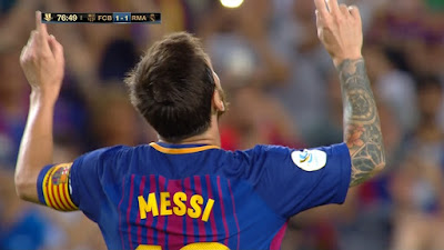 Super Cup : Barcelona 1 vs 3 Real Madrid 13-08-2017