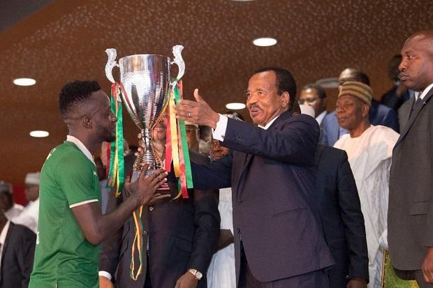 Eding Sport remporte la Coupe du Cameroun face à Lion Blessé