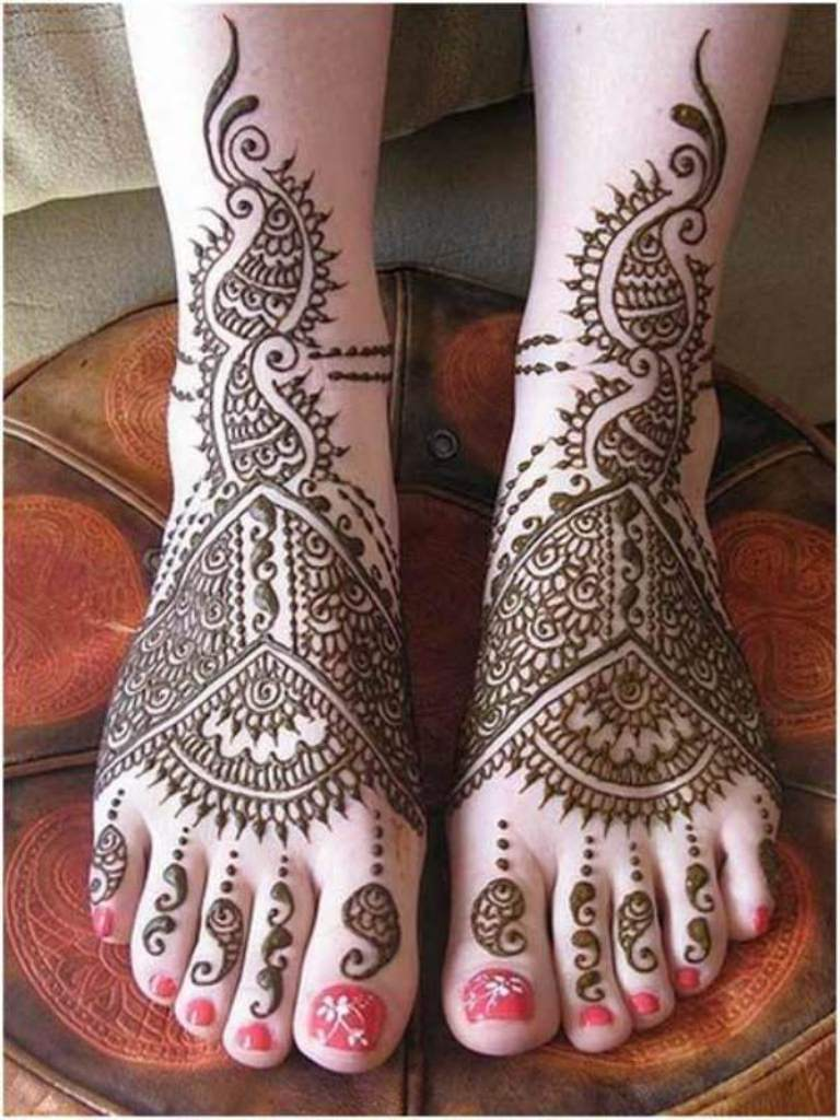 Henna Kaki Simple Dan Cantik Tattoos Ideas