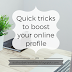 Social Media Week: Quick tricks to boost your online profile