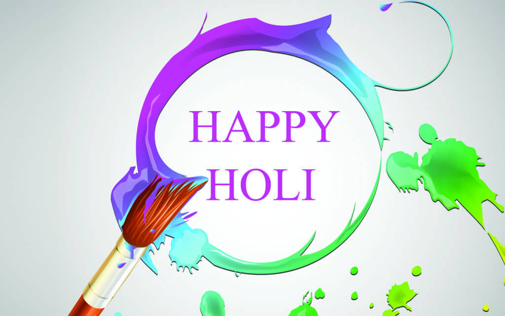 Download HD Wallpaper for Holi