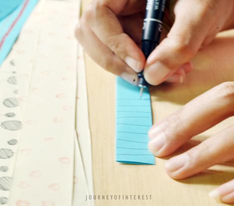 paper ribbon draw
