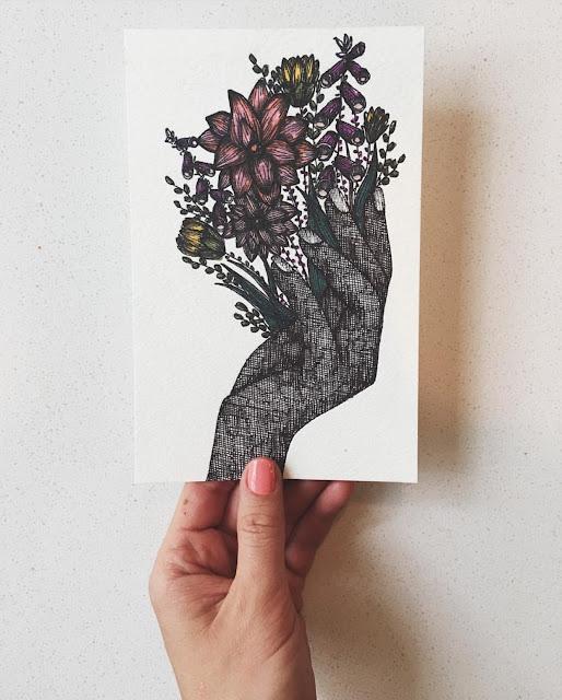 Sketchbook Conversations, Emma Jane Kimmell, sketchbooks, sketchbook pages, My Giant Strawberry