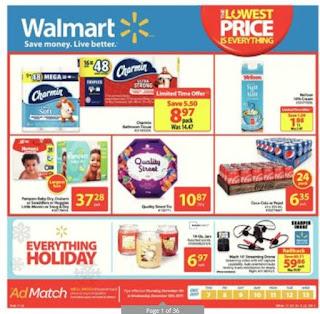 Walmart Flyer Canada December 7 - 13, 2017
